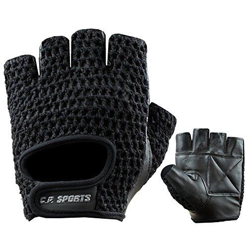 C.P.Sports Trainings Unisex Erwachsene Fitness Handschuh Standard,Schwarz, XL