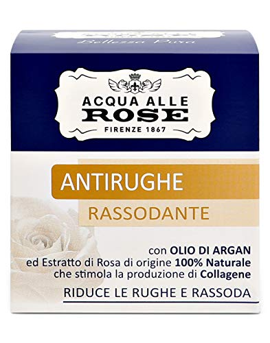 Acqua alle Rose Crema Viso Antirughe, 50 ml