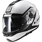 LS2 Helmets Strobe Civik Modular Motorcycle Helmet with Sunshield...