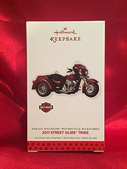 Hallmark 1 X 2011 Street Glide Trike Harley-Davidson #15 Series 2013 Ornament
