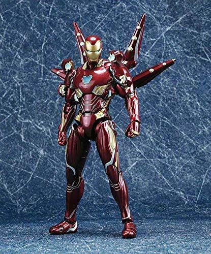YXCC Figura de acción de Iron Man Figura de acción articulada de Iron Man Decoración en Caja