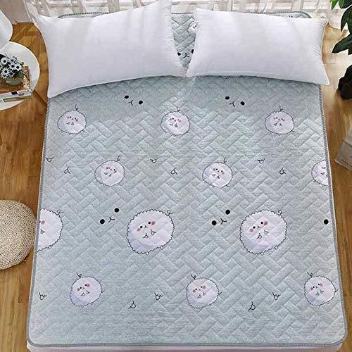 YLCJ Tragbare Faltbare Matratze, Fußbodenauflage, feuchtigkeitsbeständige Schlafmatte-Q 200x200cm (79x79inch)