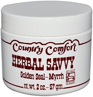 Country Comfort Herbal Savvy Goldenseal Myrrh Supplement, 2 Ounce