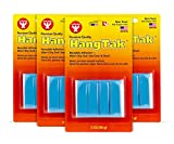 Hygloss Products HangTak - Reusable Adhesive Putty Tack for Posters, Signs, Crafts & More - 8 Ounces - Blue - 4 Pack