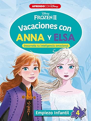 Vacaciones con Anna y Elsa. Empiezo infantil 4: Desarrolla tu inteligencia emocional (Frozen 2)