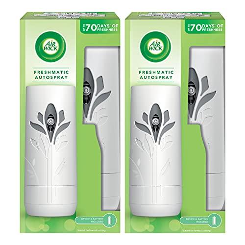 Air Wick FreshMatic Max Deodorante Gadget Bianco (Confezione da 2)