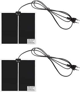 45 XER Termoforo Elettrico Infrarossi Lontani Elettrico Riscaldamento Involucro Giada Pietre Infrarosso Calore Pad per Lombare Auto off 45 cm,L Inteligente Controller