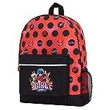 Miraculous Ladybug Mochilas Escolares Juveniles Con Ladybug Reina Y Reina Rouge, Bolsa Mochila Colegio Y Viaje, Regalos Originales Niñas