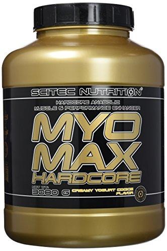 Scitec Nutrition MYO Max Hardcore Anabolic Muscle and Performance Enhancer Powder - 3080g, Creamy Yogurt Cookie