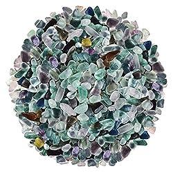 Mix Color Fluorite Polished Gravel