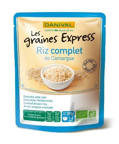 Danival - Graines Express Riz Complet de Camargue Bio 250g