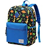 Kids Backpack,ChaseChic Water-resistant Boys Backpack Preschool Kindergarten Bookbag Lightweight Toddler Nursery School Dinosaur Backpacks with Chest Strap,3-18Years(Blue)