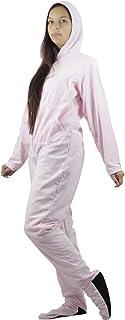 Pijama Macacão Adulto Em Soft Com Pé E Sola Em Neoprene