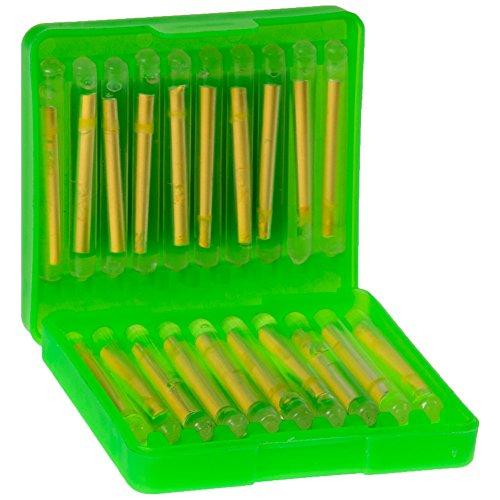 Zeck Light Stick Box - 20 Knicklichter zum Nachtangeln auf Waller, Bissanzeiger zum Wallerangeln im Dunkeln