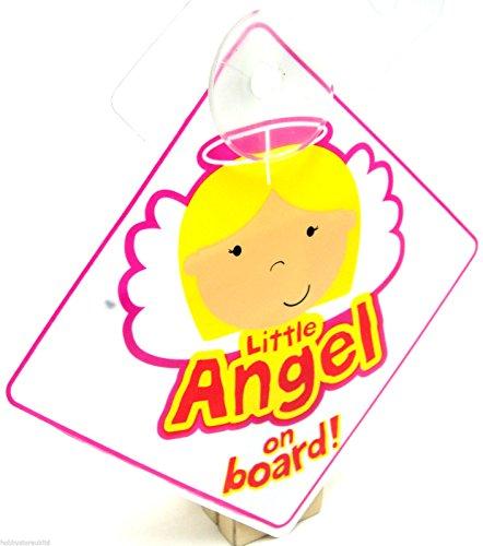 Little Angel sur panneau ventouse véhicule Angle de sécurité sur le Board