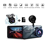 ETEYES Dash cam Dual Lens car Dashboard Camera in Car Vehicle Driving DVR...