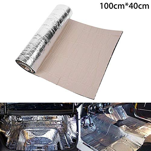 Almohadilla aislante para amortiguador de sonido de 5 mm para auto, aislante de pared insonorizante, aislamiento de vehículo, hoja de espuma de célula cerrada