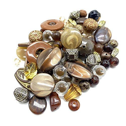 HETHYAN 20 g/Pack de cuentas de mezcla de acrílico para hacer pulseras hechas a mano y accesorios de joyería (color 14)