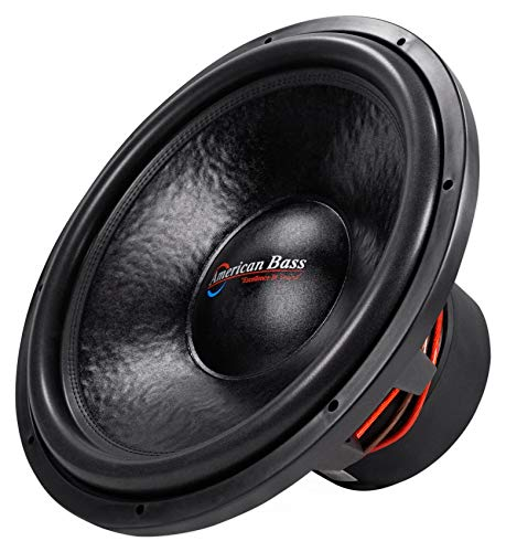 """American Bass HD18D2 HD 18"""" 4000w Competition Car Subwoofer 300Oz Magnet, 3"""" VC"""