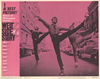 West Side Story POSTER film (11 x 14 inch - 28 cm x 36 cm) (1961) (Style C)