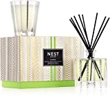 NEST Fragrances Classic Candle & Reed Diffuser Set, Bamboo