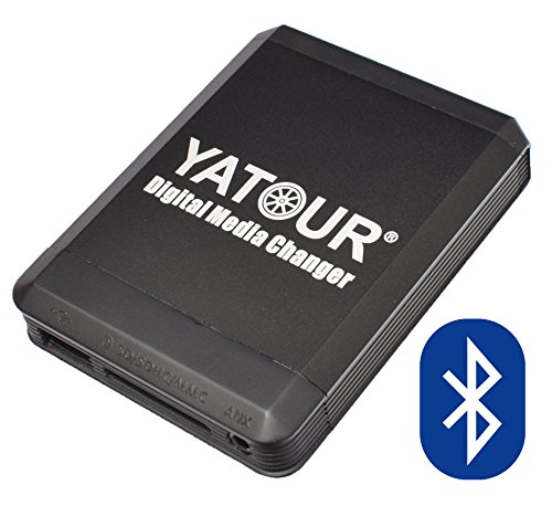 Yatour YT-M07-VW12-BT Digitaler Musikadapter USB, SD kompatibel mit iPhone iPod iPad AUX Bluetooth VW, Audi, Seat, Skoda