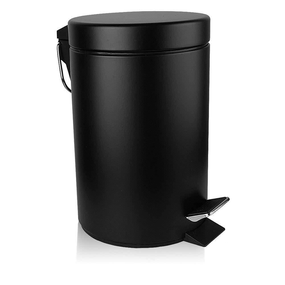 LUX Bathroom Removable Wastebasket Anti Fingerprint