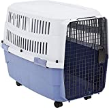 Amazon Basics Pet Carrier Kennel With Plastic Ventilation, 36-Inch