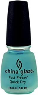 China Glaze Fast Freeze Quick Dry Nail Polish 0.50 oz (Pack of 3)