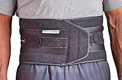 Aspen Quikdraw PRO Back Brace with Pulley System for Lower-Back and Lumbar Pain Relief, Medium from Aspen Medical Products