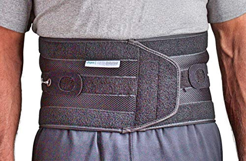 Aspen Quikdraw PRO Back Brace with Pulley System for Lower-Back and Lumbar Pain Relief, Medium