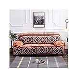 HGblossom Sofabezüge Stretch Für Wohnzimmer Spandex Schonbezüge Sofabezug Single Double Three Four Seat Schnittsofa Farbe 6 3-Sitzer 190-230Cm