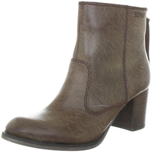 ESPRIT Estonia Bootie H10412, Boots femme - Marron-TR-E1-209, 38 EU