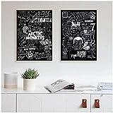 RZHSS Arctic Monkeys Musikband Leinwand Malerei Poster