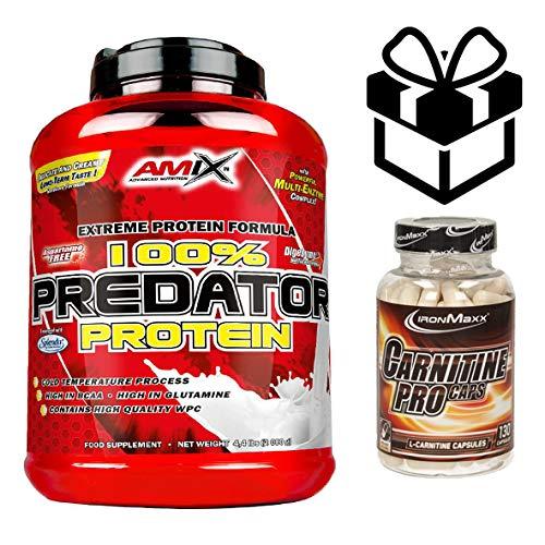 AMIX Predator Protein - 2 Kg Chocolate + Creatine + Mezclador