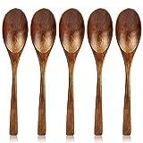 AOOSY Cuchara de madera,Juego de cucharas de sopa de madera respetuosas con el medio ambie...