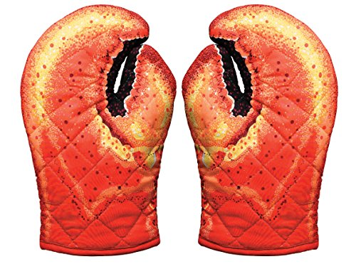 Lobster Claw Oven Mitts, Set of 2