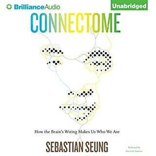 Connectome audiobook cover art