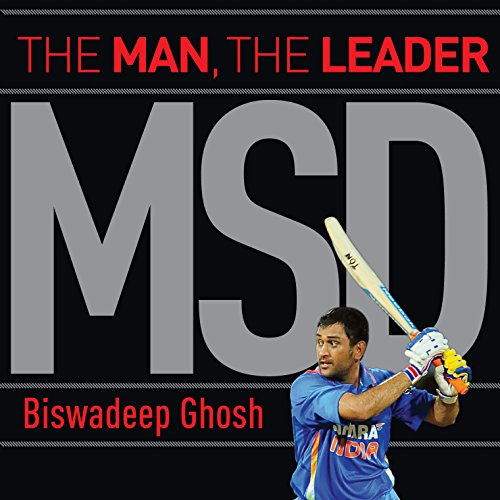 MSD: The Man, the Leader audiobook cover art