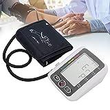 Tensiómetro de brazo totalmente automático para medición precisa de la presión arterial y del pulso para medir la presión arterial digital de brazos, modo de usuario con gran pantalla LCD