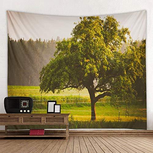 Tapiz de paisaje hermoso bosque natural impreso gran tela para colgar en la pared colcha toalla de playa decoración del hogar viaje almohadilla para dormir