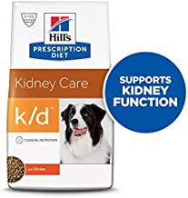 Hill's Prescription Diet k/d Kidney Care with Chicken Dry Dog Food, 8.5 Lb Bag
