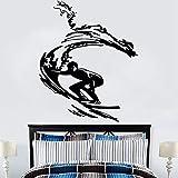 Nursery Kids Baby Room Etiqueta de La Pared Elefante Familia Amor Decoración Del Hogar Arte de Vinilo Removible Poster Mural Tatuajes de57 * 69 cm