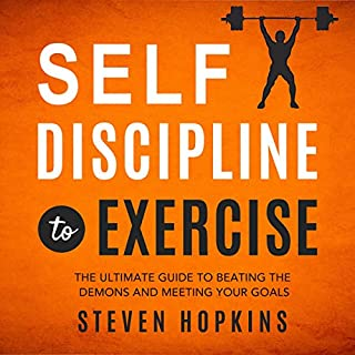 Self-Discipline to Exercise audiobook cover art