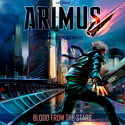Arimus: Blood from the Stars audiobook cover art