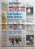 POPULAIRE DU CENTRE (LE) [No 6] du 07/01/1995 - FURIANI - MEA CULPA DU CONSTRUCTEUR DE LA TRIBUNE - ALGERIE - L'ULTIMATUM EXPIRE AUJOURD'HUI - PARIS-TOULOUSE - DERIVE AERIENNE - LA GUERRE DES TARIFS BAT SON PLEIN - RAID RUSSE SUR GROZNY - RECOURS ACCRU A LA CSG - SARKOZY SONDE LE TERRAIN - LA SURPRISE DE L'HIVER - SPORTS - FOOTBALL - LF 87-ROMORANTIN POUR UNE PLACE DE LEADER - D1 - LA BELLE OCCASE DE NANTES - RUGBY - BRIVE ET USAL - REPRISE A DOMICILE - BASKET - LIMOGES-PSG - CREDIBILITE EN JEU