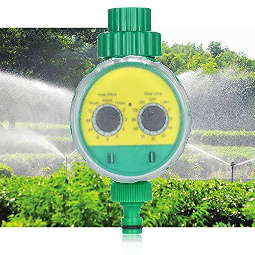 Irrigation Timer, KKmoon Outdoor Timed Irrigation Controller Automatic Sprinkler Controller Programmable Valve Hose Water Timer Faucet Watering Timer for Home Garden Farmland