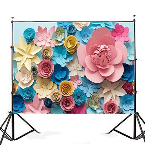 ReadyUp 7x5FT Colorful Blume Fotografie Hintergrund Studio Prop Hintergrund