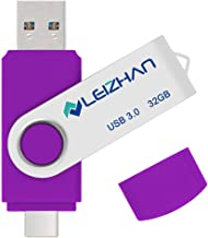 leizhan 64 gb Type C USB Flash Drive Photostick Compatible for Samsung Galaxy S10+, S10e, Note 10,S10,S9, Note 9, S8, S8 P...