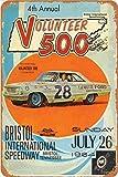 AIFEI Racing Poster 1964 Bristol Raceway fred Lorenzen Ford